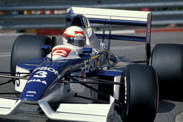 Satoru Nakajima, Tyrrell 019 Ford.