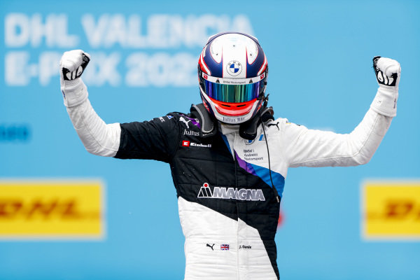 Race winner Jake Dennis (GBR), BMW I Andretti Motorsport, BMW iFE.21 celebrates