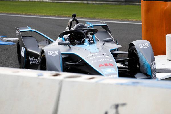 Media drive FIA ABB Formula E Generation 2 car on track