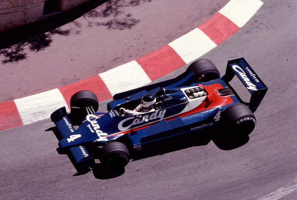 1979 Monaco Grand Prix. Monte Carlo, Monaco. 24-27 May 1979. Jean-Pierre Jarier (Tyrrell 009 Ford). Ref-79 MON 14. World Copyright - LAT Photographic