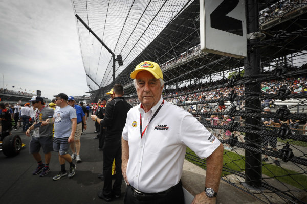 Simon Pagenaud, Team Penske Chevrolet team owner Roger Penske