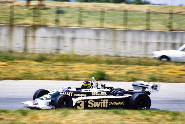 Dave Scott, March 832 BMW/Rosche.