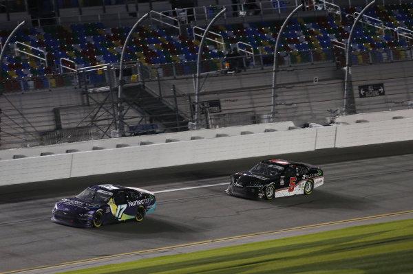 #17: Cody Ware, SS Green Light Racing, Chevrolet Camaro #5: Matt Mills, B.J. McLeod Motorsports, Toyota Supra J.F. Electric