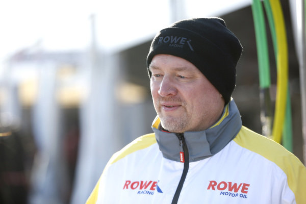 Hans Peter Naundorf, Team manager ROWE Racing.