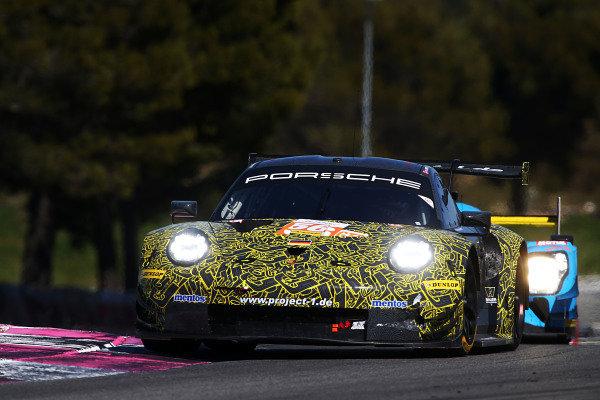 #56 Porsche 911 RSR / PROJECT 1 / Egidio Perfetti / Giorgio Roda / Jorg Bergmeister