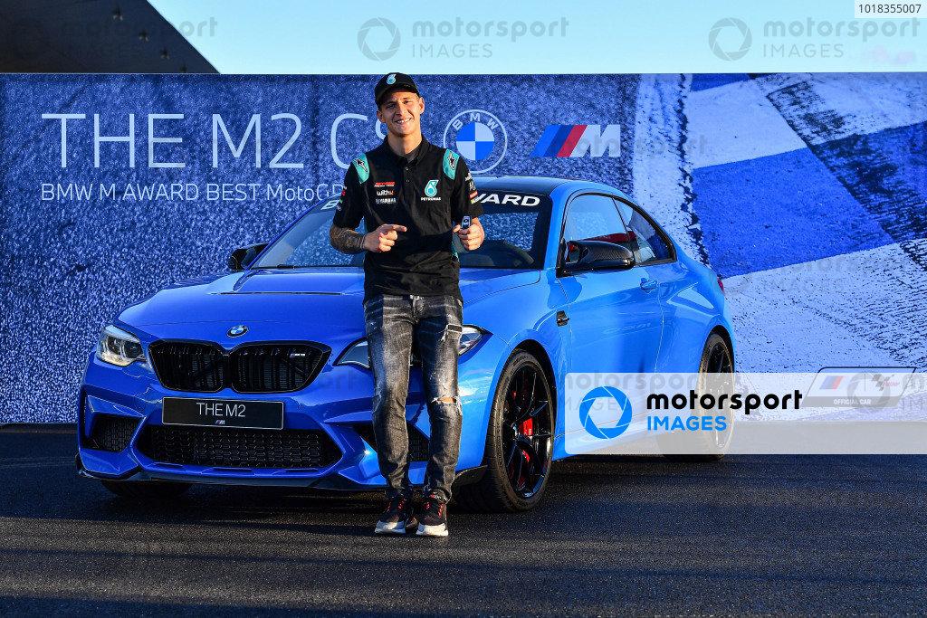 Fabio Quartararo, Petronas Yamaha SRT wins the BMW M Award