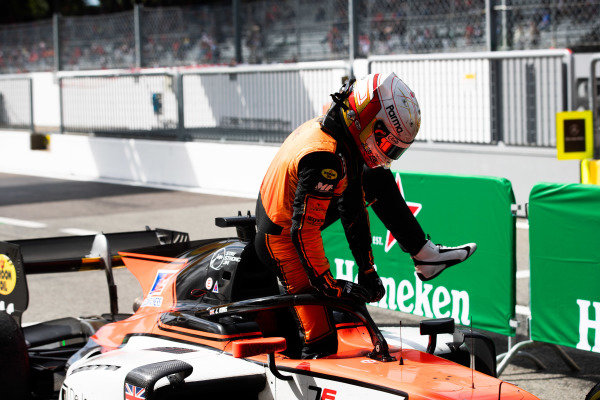 AUTODROMO NAZIONALE MONZA, ITALY - SEPTEMBER 08: Jordan King (GBR, MP MOTORSPORT) during the Monza at Autodromo Nazionale Monza on September 08, 2019 in Autodromo Nazionale Monza, Italy. (Photo by Joe Portlock / LAT Images / FIA F2 Championship)
