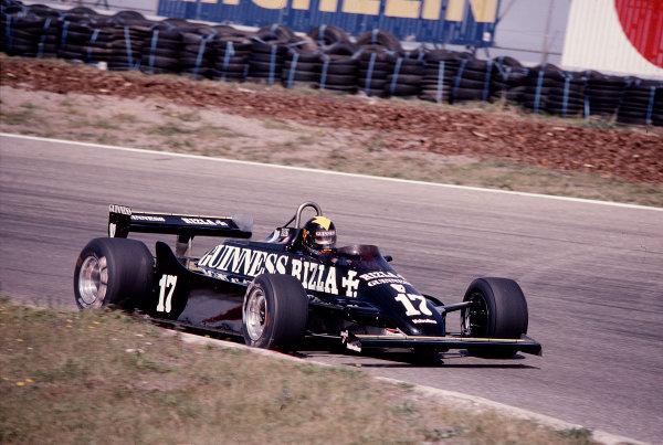 1981 Dutch Grand Prix.Zandvoort, Holland.28-30 August 1981.Derek Daly (March 881 Ford).Ref-81 HOL 41.World Copyright - LAT Photographic