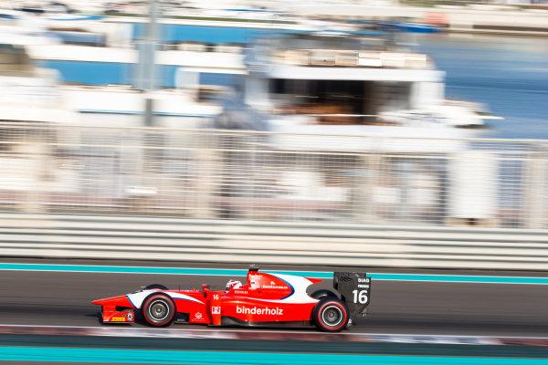 2014 GP2 Series Test 1  Yas Marina Circuit, Abu Dhabi, UAE.  Wednesday 12 March 2014. Rene Binder (AUT) Arden International  Photo: Malcolm Griffiths/GP2 Series Media Service ref: Digital Image F80P5138