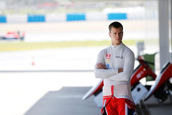 2014 GP3 Series Test 2. Jerez, Spain  Friday 11 April 2014. Patric Niederhauser (SUI, Arden International)  Photo: Sam Bloxham/GP3 Series Media Service. ref: Digital Image _G7C1821