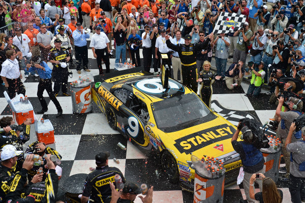 August 10-12, 2012, Watkins Glen, New York , USAMarcos Ambrose gets out in Victory Lane(c) 2012, LAT SouthLAT Photo USA