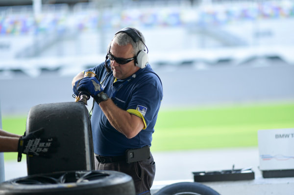 13-14 December 2016,  Daytona Beach, Florida USA Michelin tire engineer ©2016, Richard Dole LAT Photo USA