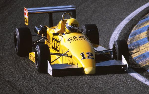 Roland Ratzenberger (AUT) West Surrey Racing Ralt RT31-VW. 1987 British Formula Three Championship.
