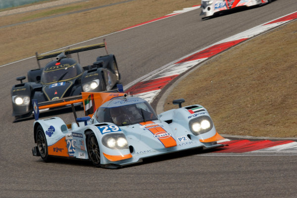 Shanghai, China. 25th - 27th October 2012. Keiko Ihara/Jean Denis Deletraz/Fabien Giroix Gulf Racing Middle East Lola B12/80 Coupe Nissan World Copyright: Ebrey/LAT Photographic.