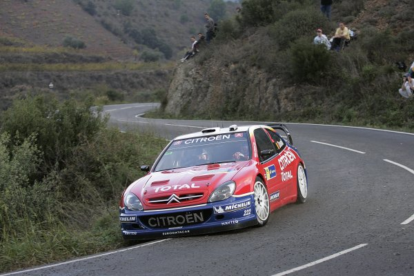 2005 FIA World Rally Champs. Round fifteenRally RACC Catalunya - Costa Durada.27th-30th  October 2005.Francois Duval, Citroen, action.World Copyright: McKlein/LAT
