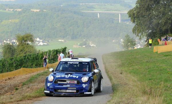 Round 09 - Rally Deutschland 18-21 August 2011.Patrik Flodin, Mini WRC, Action.Worldwide Copyright: McKlein/LAT