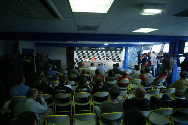 Le Mans, France. 16th - 17th May 2009.Pre event press conference.World Copyright: Martin Heath/LAT Photographicref: BPI_Moto 898m
