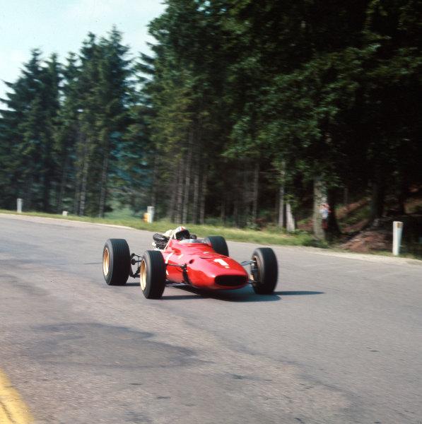 Spa-Francorchamps, Belgium.16-18 June 1967.Chris Amon (Ferrari 312) 3rd position.Ref-3/2942B.World Copyright - LAT Photographic