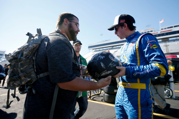 NASCAR Camping World Truck Series  Texas Roadhouse 200 Martinsville Speedway, Martinsville VA USA Friday 27 October 2017 Chase Briscoe, Cooper Standard Ford F150 World Copyright: Matthew T. Thacker LAT Images
