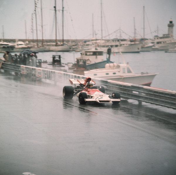 Monte Carlo, Monaco.11-14 May 1972.Jean-Pierre Beltoise (BRM P160B) 1st position.Ref-3/5067K.World Copyright - LAT Photographic