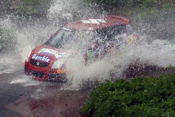 2008 British Rally Championship,Jim Clark Rally, 23rd-25th May 2008,Mark Gamble/Stephen Link  Suzuki SwiftWorld Copyright: Ebrey/LAT Photographic.