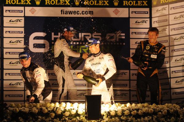 Bahrain, 27th-29th September 2012,Nick Leventis/Danny Watts/Jonny Kane Strakka Racing HPD ARX 03a HondaWorld copyright: Ebrey/LAT Photographic