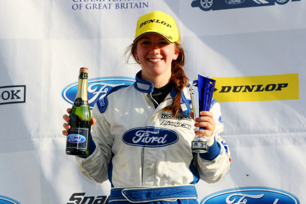 2014 MSA Formula Ford Championship of Great Britain, Snetterton, Norfolk. 1st - 3rd August 2014. Louise Richardson (GBR) Richardson Racing Mygale. World Copyright: Ebrey / LAT Photographic.