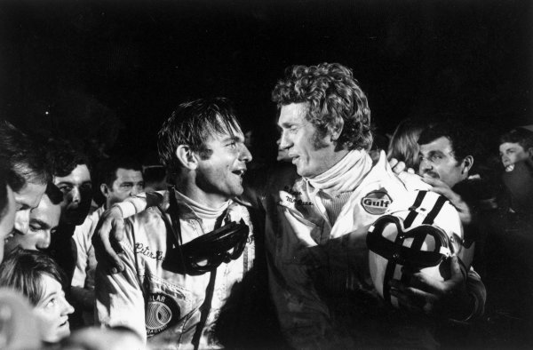 Sebring, Florida, USA. 21 March 1970.Steve McQueen and Pete Revson, 2nd position. Ref-2936 #14World Copyright - LAT Photographic