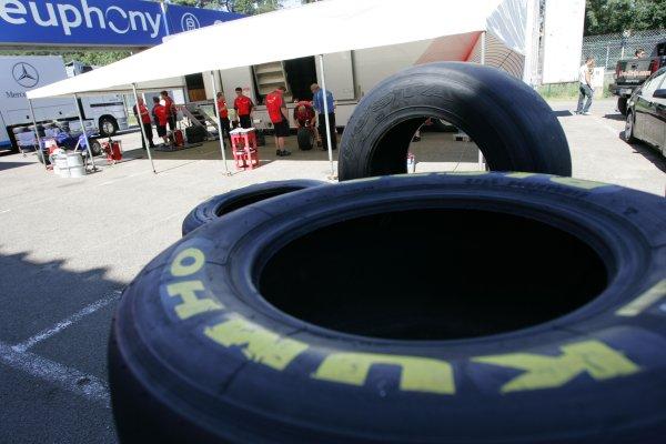 2007 Zandvoort Masters of Formula Three.Zolder, Belgium. 4th and 5th August 2007.Kumho TyresWorld Copyright: Hoyer/Ebrey/LAT Photographic