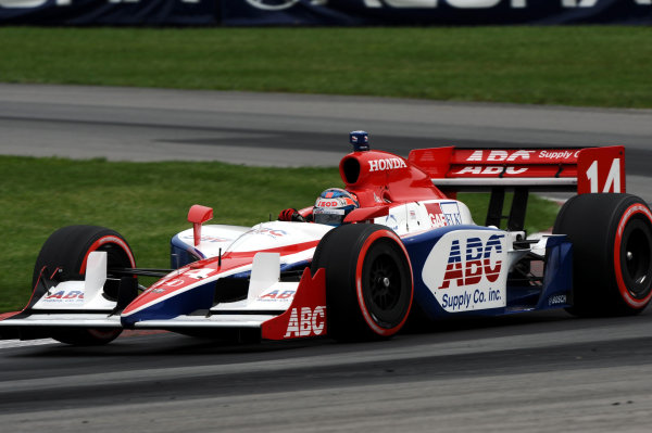 Ryan Hunter-Reay (USA), Foyt Racing.IndyCar Series, Rd13, Honda Indy 200, Mid Ohio Sports Car Course, Lexington, OH, USA. 7-9 August 2009.