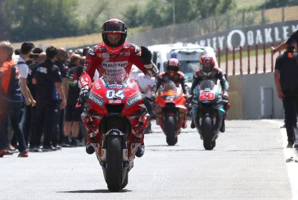Third place Andrea Dovizioso, Ducati Team.