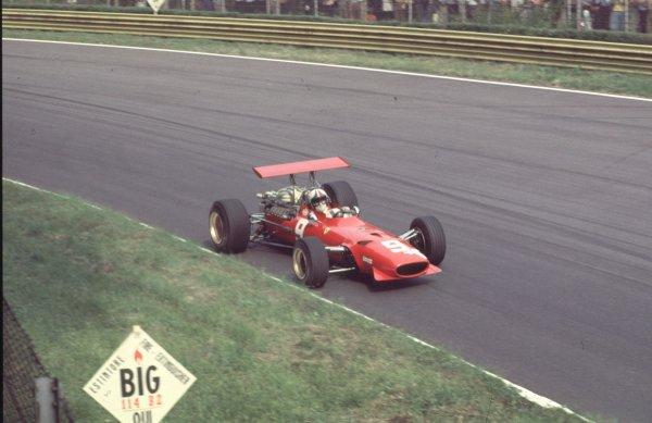 1968 Italian Grand Prix.Monza, Italy.6-8 September 1968.Chris Amon (Ferrari 312).Ref-68 ITA 66.World Copyright - LAT Photographic