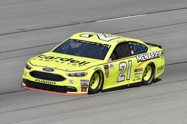 #21: Paul Menard, Wood Brothers Racing, Ford Fusion Menards / Cardell