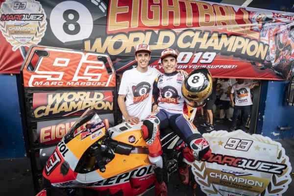 World Champion Marc Marquez, Repsol Honda Team, Alex Marquez