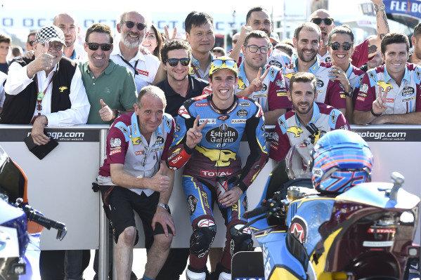Second place Alex Marquez, Marc VDS Racing