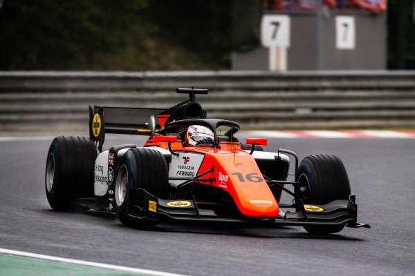 HUNGARORING, HUNGARY - AUGUST 02: Jordan King (GBR, MP MOTORSPORT) during the Hungaroring at Hungaroring on August 02, 2019 in Hungaroring, Hungary. (Photo by Joe Portlock / LAT Images / FIA F2 Championship)