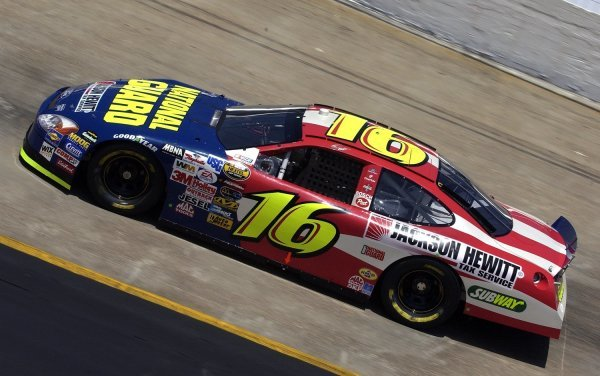 03/26/04 NASCAR Nextel Cup Series.Round 6 of 36. Food City 500. Greg Biffle. Bristol, Tennessee, USA.