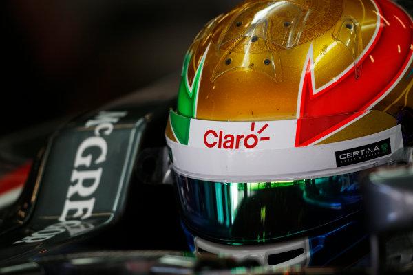 Circuit de Catalunya, Barcelona, Spain. Wednesday 14 May 2014. Esteban Gutierrez, Sauber. World Copyright: Sam Bloxham/LAT Photographic. ref: Digital Image _SBL0334