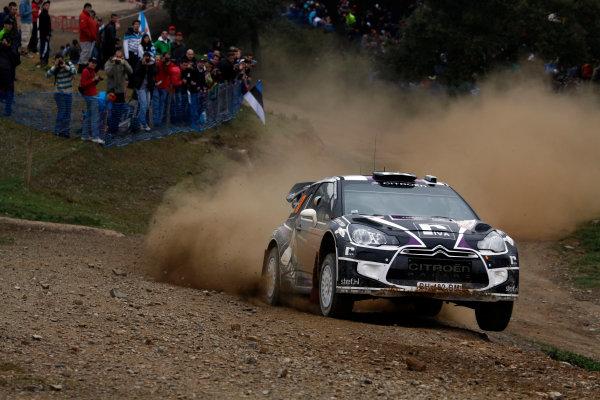 Round 04-Rally Portugal 28/3-1/4 2012. Peter VanMerksteijn JR, Citroen WRC, ActionWorldwide Copyright: McKlein/LAT