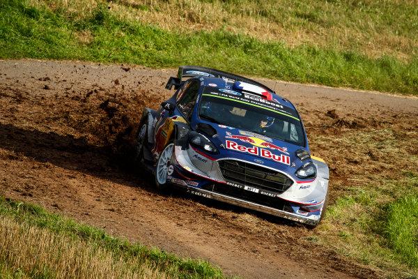2017 FIA World Rally Championship, Round 10, Rallye Deutschland, 17-20 August, 2017, Sebastien Ogier, Ford, action, Worldwide Copyright: McKlein/LAT