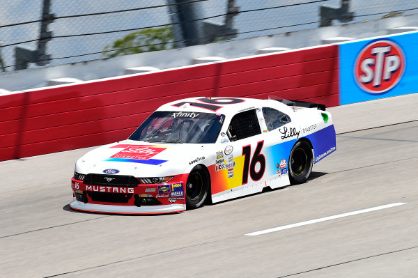 NASCAR XFINITY Series Sport Clips Haircuts VFW 200 Darlington Raceway, Darlington, SC USA Friday 1 September 2017 Ryan Reed, Lilly Diabetes Ford Mustang World Copyright: John Harrelson LAT Images
