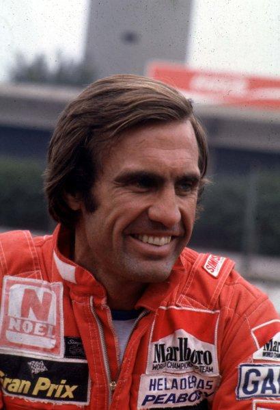 Formula 1 World Champonship.Carlos Reutemann.World - LAT Photogarphic