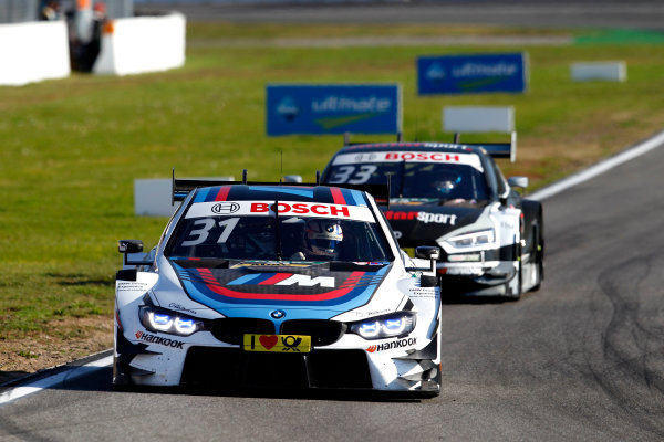 2017 DTM Round 9  Hockenheimring, Germany  Sunday 15 October 2017. Tom Blomqvist, BMW Team RBM, BMW M4 DTM  World Copyright: Alexander Trienitz/LAT Images ref: Digital Image 2017-DTM-HH2-AT3-2163