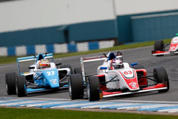 2017 BRDC British F3 Championship, Donington Park, Leicestershire. 23rd - 24th September 2017. Nicolai Kjaergaard (DEN) Fortec Motorsports BRDC F3 World Copyright: JEP/LAT Images