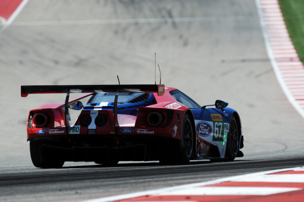 2017 FIA World Endurance Championship, COTA, Austin, Texas, USA. 14th-16th September 2017, #67 Ford Chip Ganassi Team UK  Ford GT: Andy Priaulx, Harry Tincknell,  World Copyright. May/JEP/LAT Images