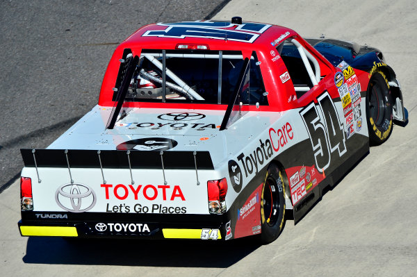 October 25-26, 2013, Martinsville, Virginia USA Darrell Wallace Jr truck © 2013, Brian Czobat LAT Photo USA
