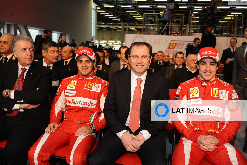 2010 Ferrari F10 Launch