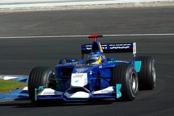 Nick Heidfeld (GER) Sauber Petronas C21.German Grand Prix, Hockenheim, Germany, 28 July 2002.DIGITAL IMAGE
