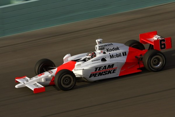 Sam Hornish Jr. (USA), Team Penske Dallara Honda.IRL IndyCar Series, Rd1, XM Satellite Indy 300, Homestead-Miami Speedway, Homestead, FLorida, USA. 23-25 March 2007.DIGITAL IMAGE
