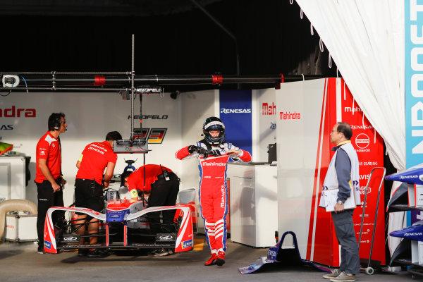 2017/2018 FIA Formula E Championship. Round 1 - Hong Kong, China. Saturday 02 December 2017. Nick Heifeld (GER), Mahindra Racing, Mahindra M4Electro. Photo: Alastair Staley/LAT/Formula E ref: Digital Image _ALS5458